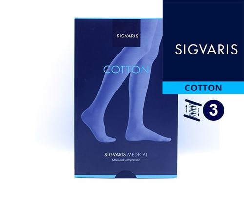 Компрессионные чулки Sigvaris Medical Cotton 3 класс компрессии