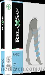 Компрессионные колготки Relaxsan Basic XL с УВЕЛИЧЕННЫМ ОБЪЕМОМ БЕДЕР 1 класс компрессии