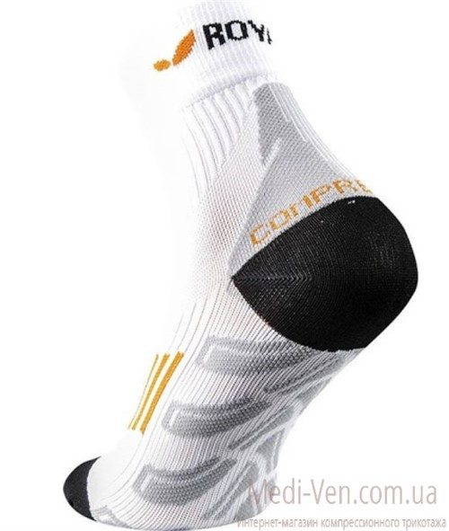 Компрессионные высокие спортивные носки ROYAL BAY Classic Aries
