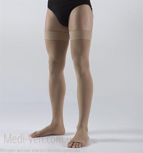Компрессионные чулки Lauma medical 2 класс компрессии открытый носок